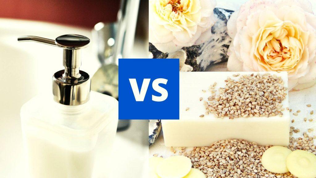 Bar Soap vs Liquid Soap