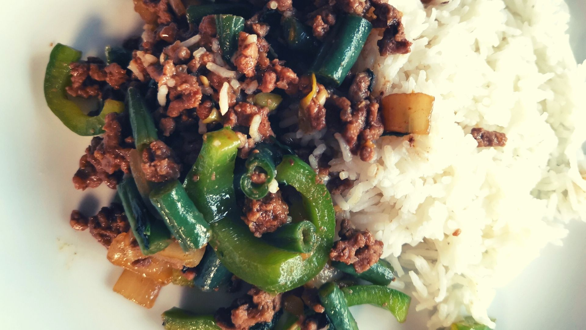 Quick and Easy Dinner. Thai Inspired Basil Beef