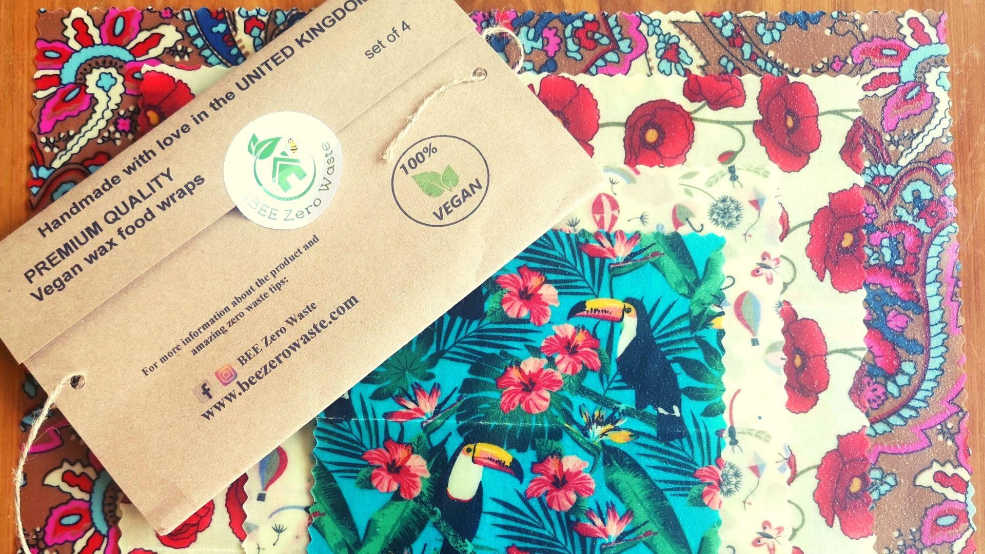 BEE Zero Waste: Vegan Wax, Food Wraps Product Review