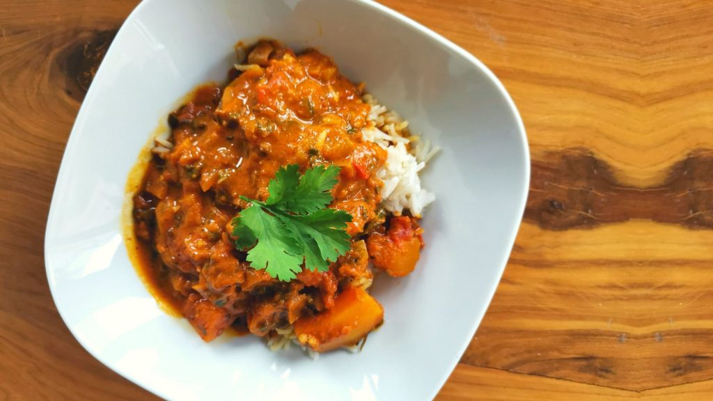 Vegetarian-butternut-curry