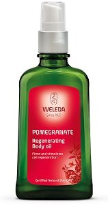 Weleda body oil