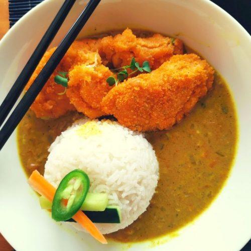 Vegetarian Katsu Curry