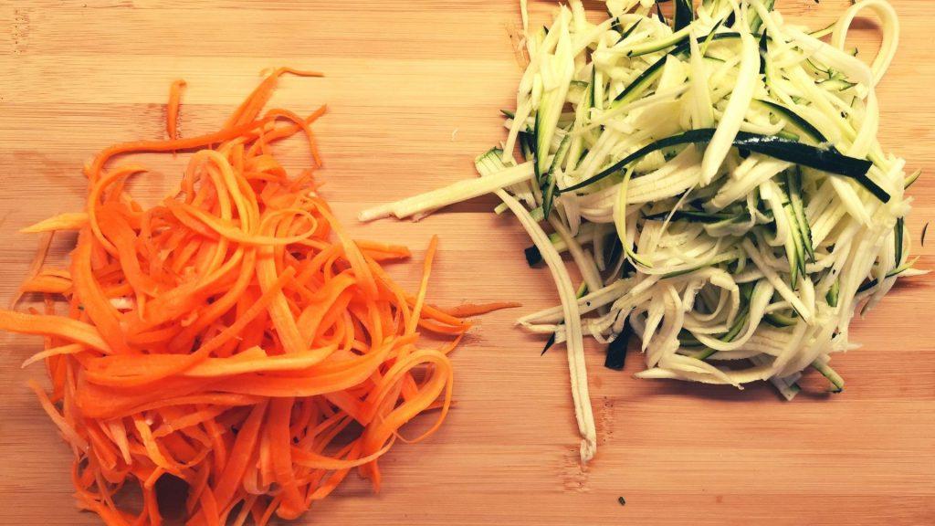 Vegetable Stir Fry Julienne