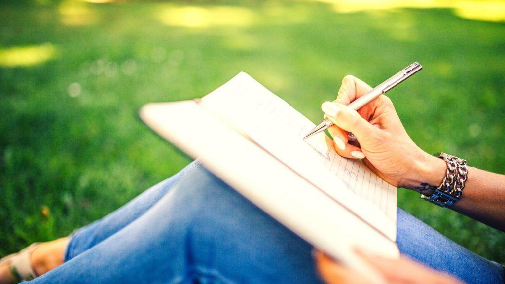 Journal to de-stress