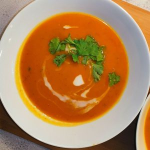 Butternut Squash Soup with Coconut Recipe