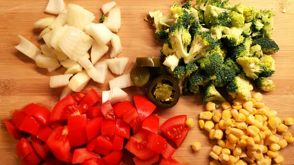 Mexican Broccoli Ingredients